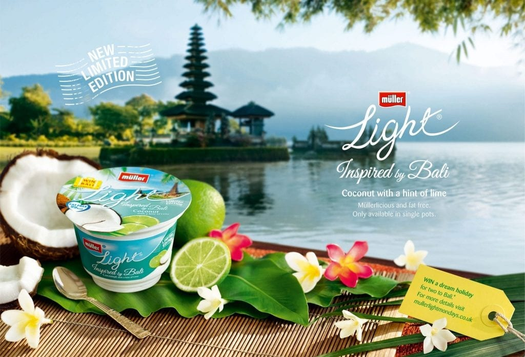 Muller Light Advert, Inspired by Bali