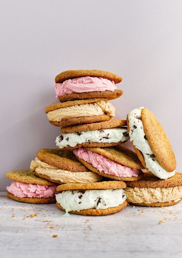 Ice Cream Sandwiches shot for Delicious Magazine for their summer cover.