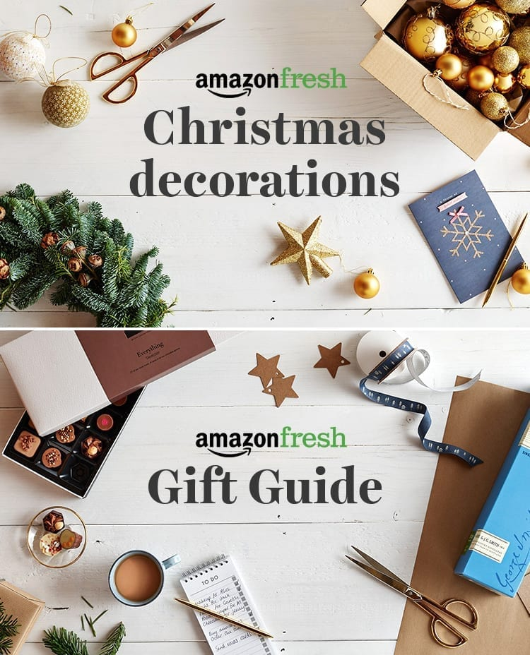 Amazon fresh christmas decorations gift guide tree baubles
