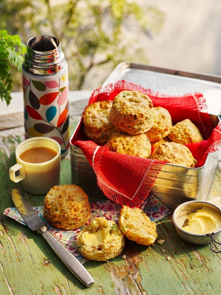 co-op southern counties spring onion cheddar scones