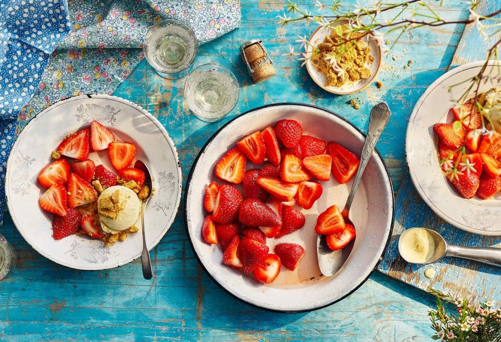 co-op southern counties prosecco marinated strawberries