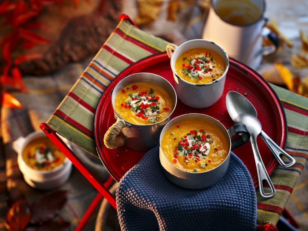 cooperative southern counties curried sweet potato carrot soup