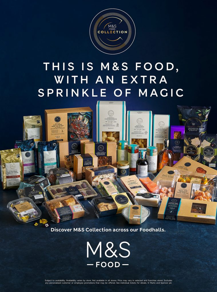 marks and spencers collections range press advertisement