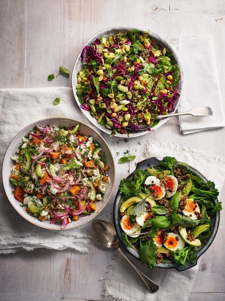 Delicious magazine Winter Vegetarian Salads