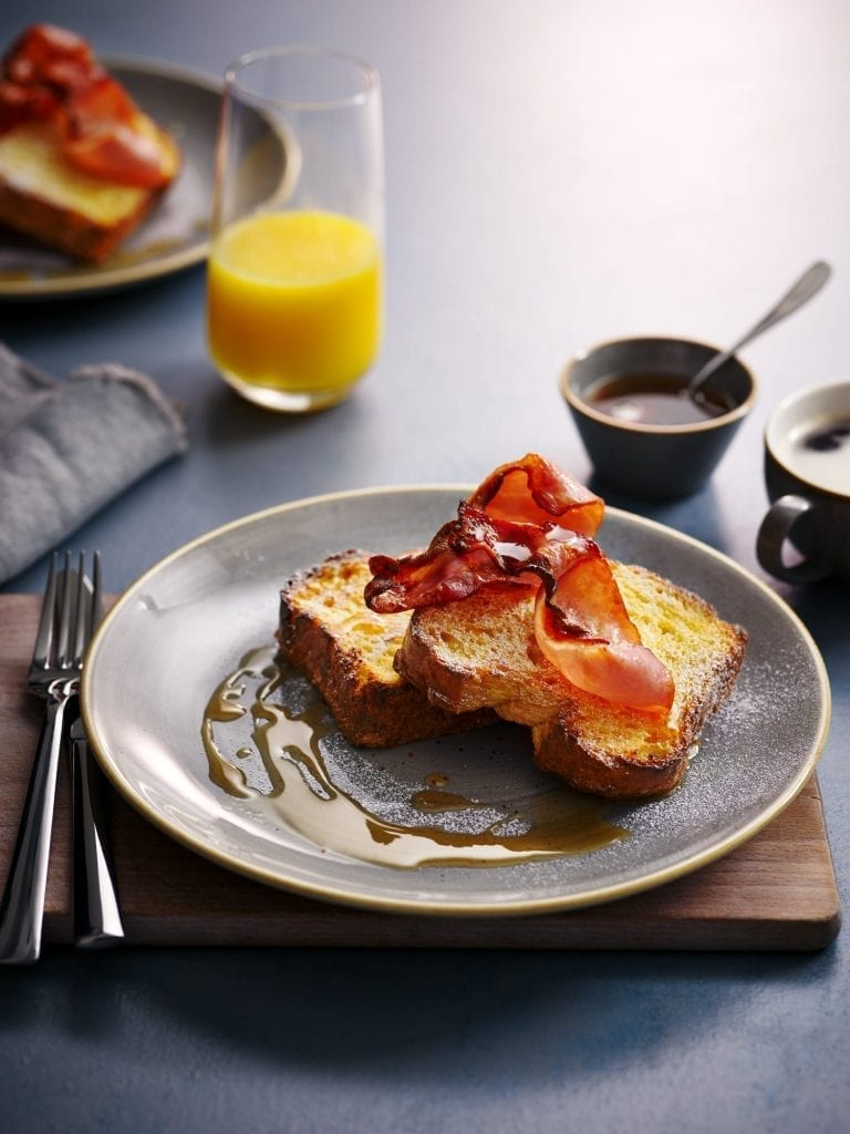 Dobbies garden centre restaurants Breakfast Brioche and Bacon