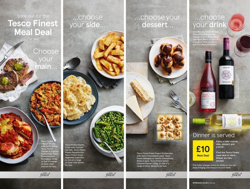 Tesco Meal Deal Range