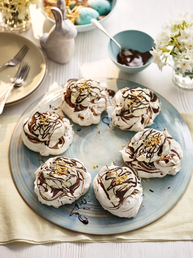Good housekeeping Chocolate Ripple Pavlovas