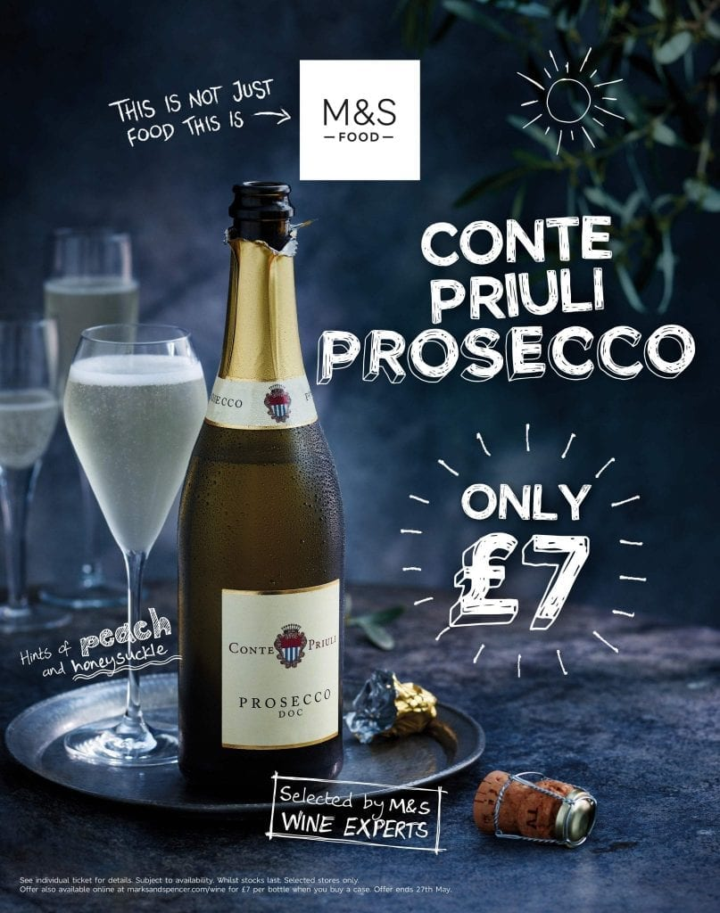 food studio photography marks and spencers prosecco glass summer rhino