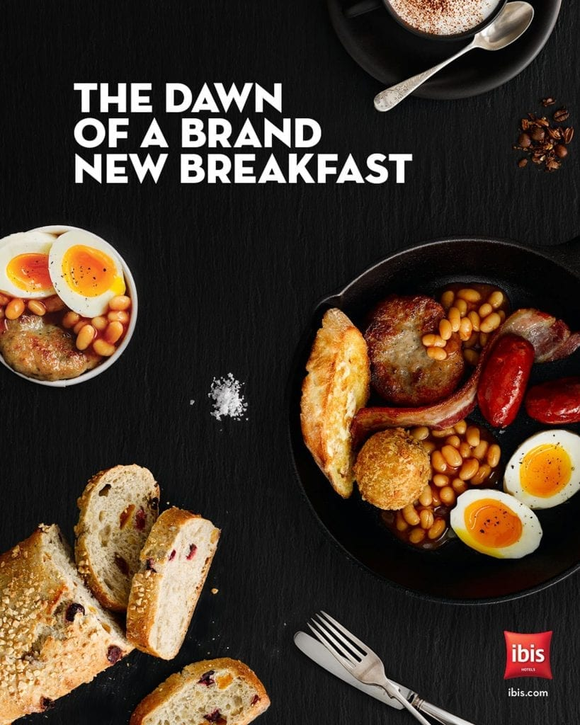 IBIS Hotels English breakfast to eat in or takeaway