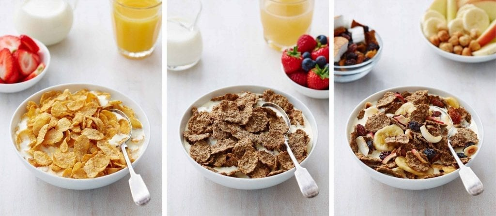 breakfast cereals marks and spencers with fruit juice packaging