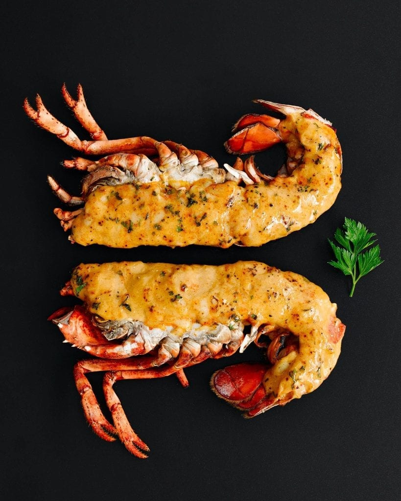 Lobster Thermidor shot for Marks and Spencer for valentines day
