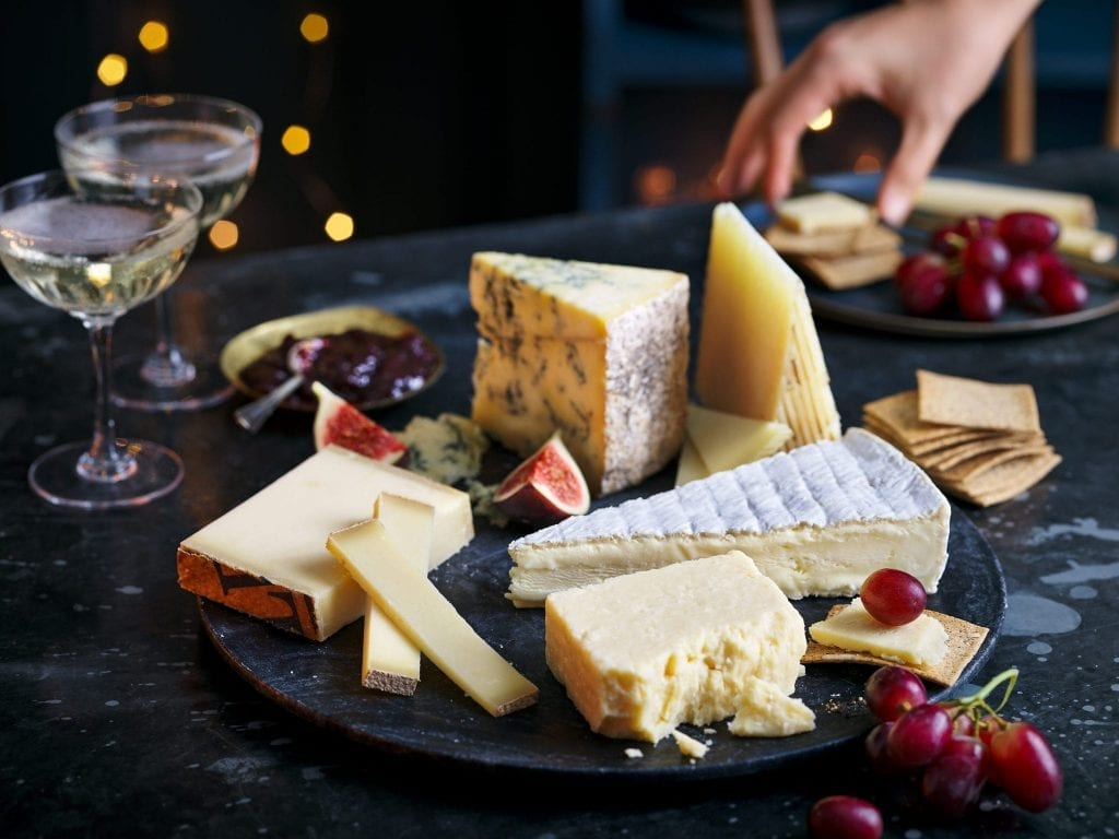 marks and spencers M&S cheese selection for christmas