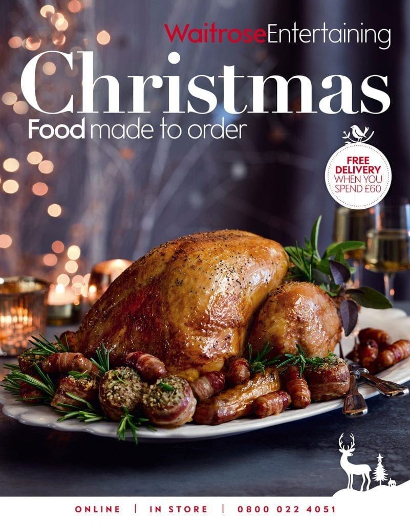 Cover of Waitrose Entertaining Christmas Food To Order Roasted Turkey