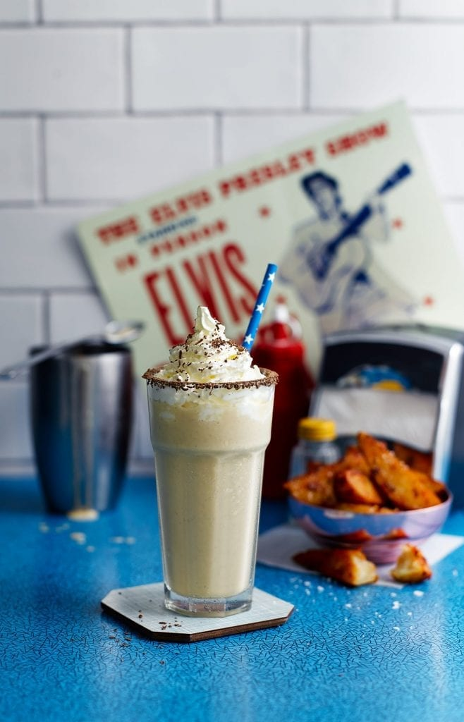 The Elvis cocktail milkshake