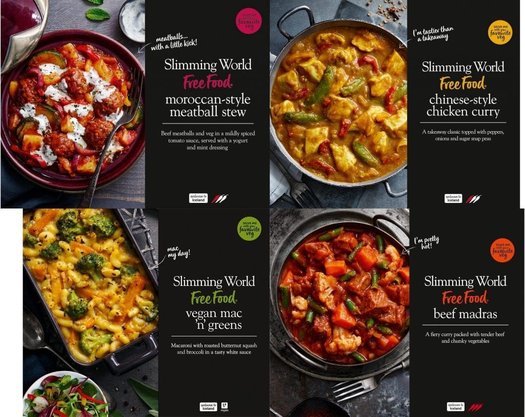 slimming world ready meals iceland supermarket
