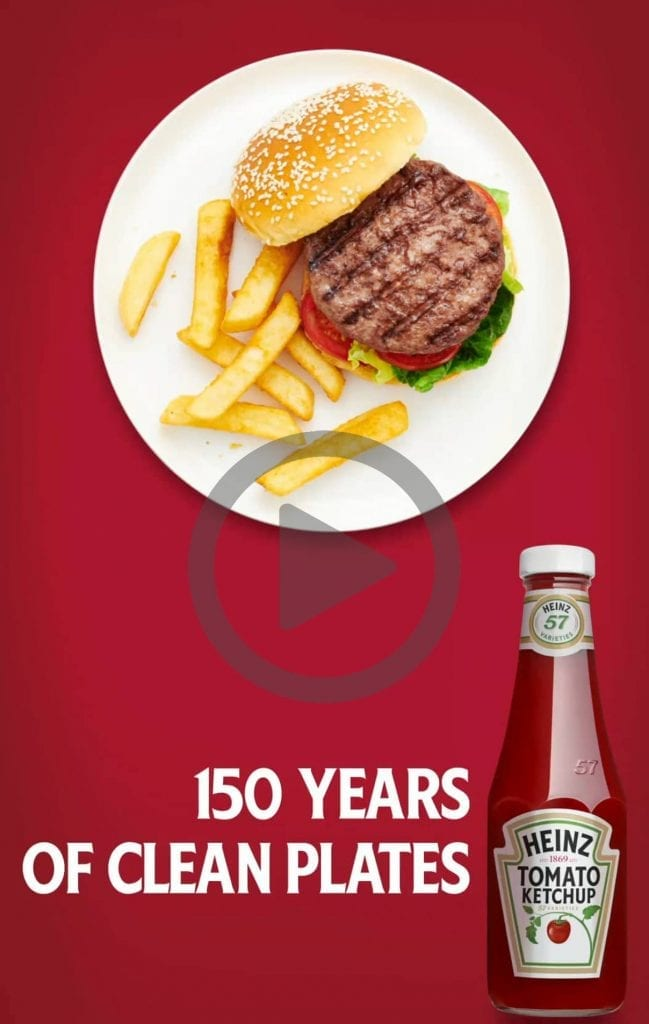 Heinz 150th Birthday GIF for social media.