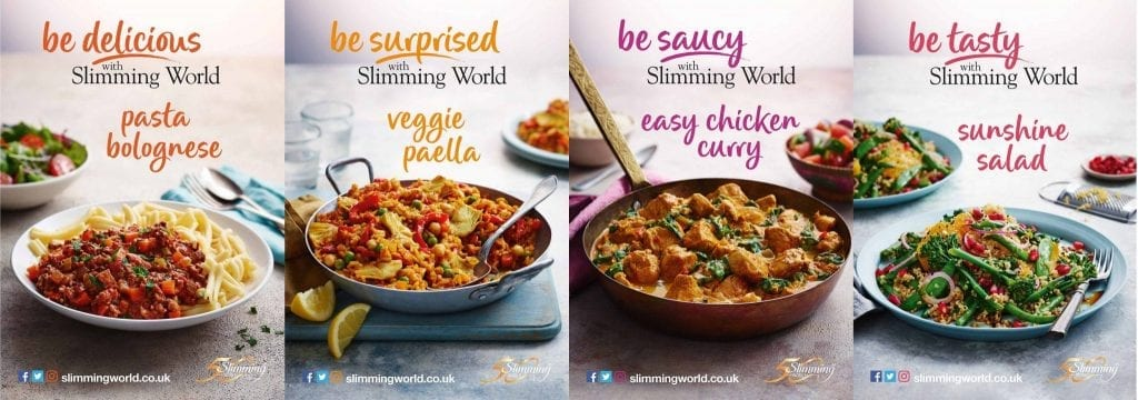 Recipe Cards for Slimming World's 50th bus tour