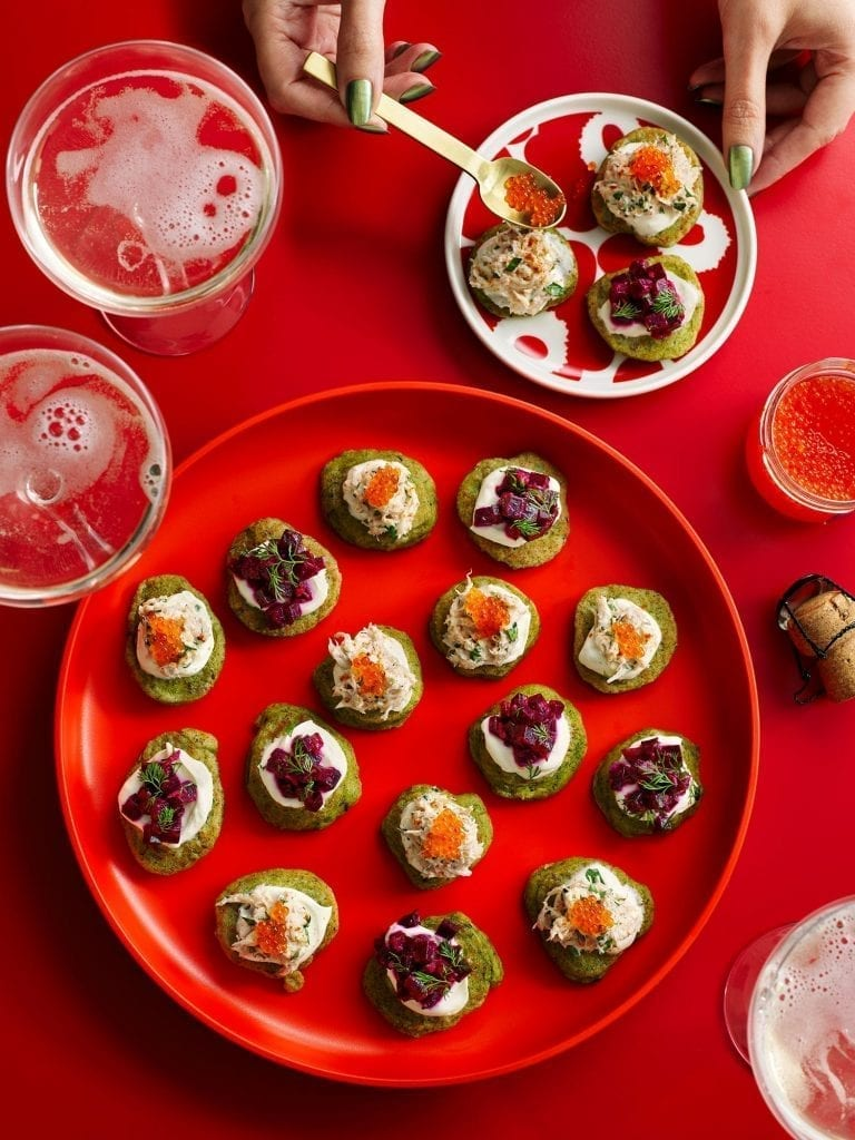 sunday times the dish rosie burkett christmas blinis