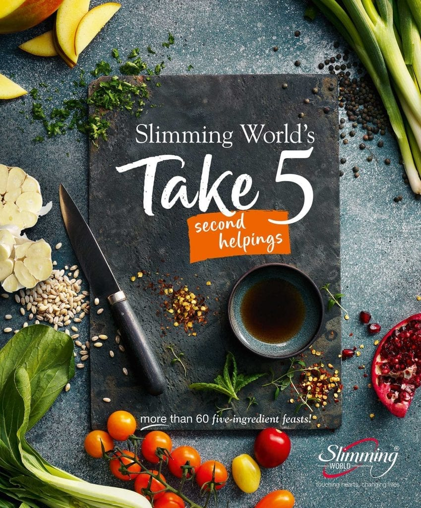 slimming world take 5 ingredients second helping recipe cook book