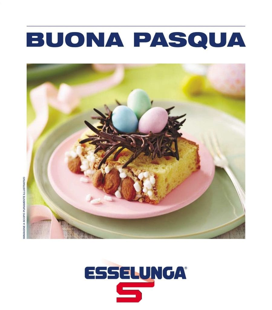 Food to order cover for Italian supermarket Esselunga